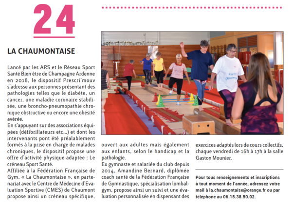 Article presse chaumontaise
